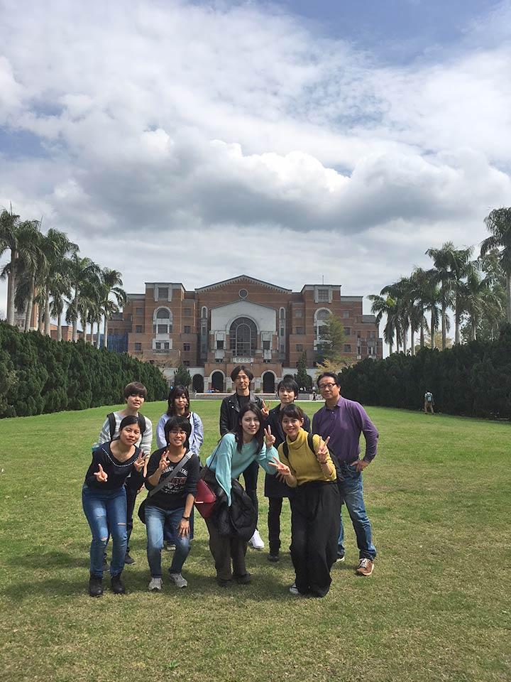 ゼミ研修旅行(台湾大学)